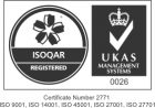 Image/Logo related to 'ISOQAR Registered'